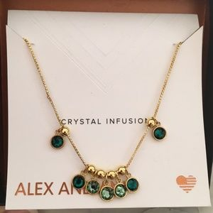 Crystal Infusion Emerald Crystal Mirage Necklace